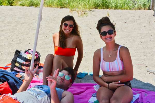Were you SEEN enjoying the summer weather at Silver Sands and Walnut beaches in Milford on July 9, 2019?