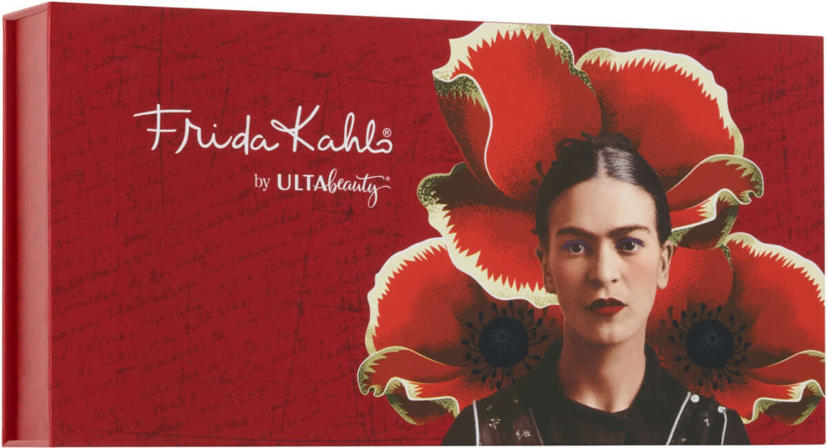 Frida Kahlo by Ulta Beauty Signature Box (includes a 12-pan eyeshadow palette and shadow switch pan all in a keepsake box) ($30)