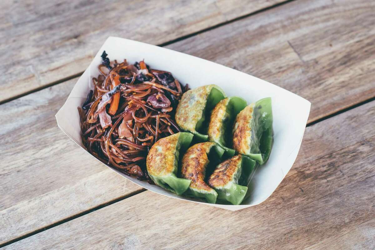 Food from Dumpling Haus will be among the culinary options at the vegan-themed VegFest Houston