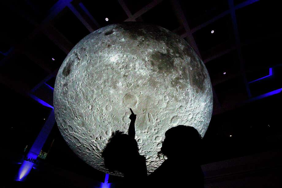 "Celebrate the 50th anniversary of the Apollo 11 lunar landing with ""A Night of Family Stargazing"" at The Houston Museum of Natural Science. Photo: Jon Shapley, Houston Chronicle / Staff Photographer / © 2019 Houston Chronicle"
