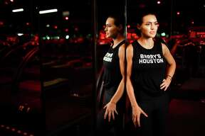 Barry's Bootcamp general manager Megan Cushing at the River Oaks studio.