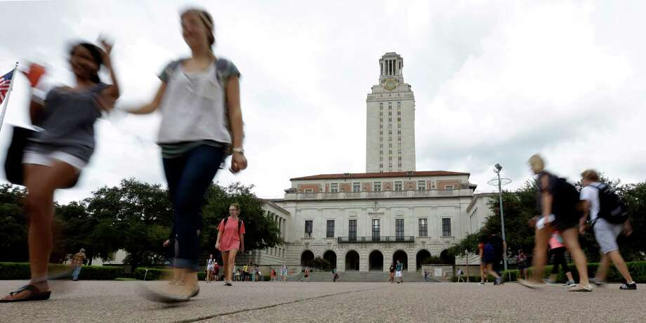 The University of Texas at Austin now holds the dubious distinction of topping the list as No. 1 in the nation in cases of novel coronavirus, out of more than 6,300 institutions surveyed, according to a New York Times survey. Photo: Eric Gay, STF / Associated Press / AP