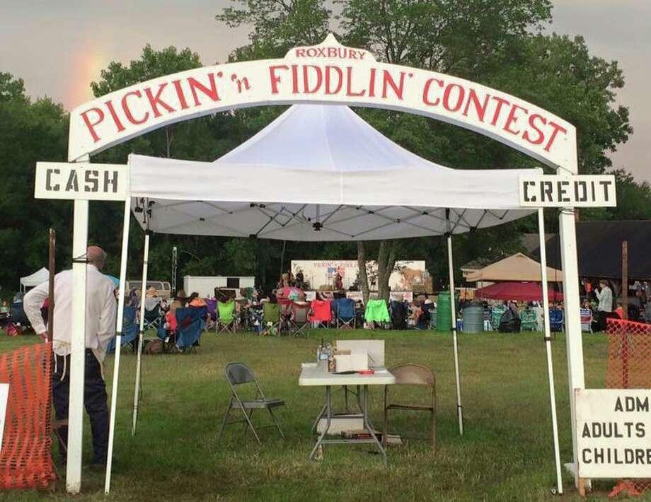 Last year's Pickin' 'n Fiddlin' festival. Photo: Roxbury Volunteer Fire Department / Facebook