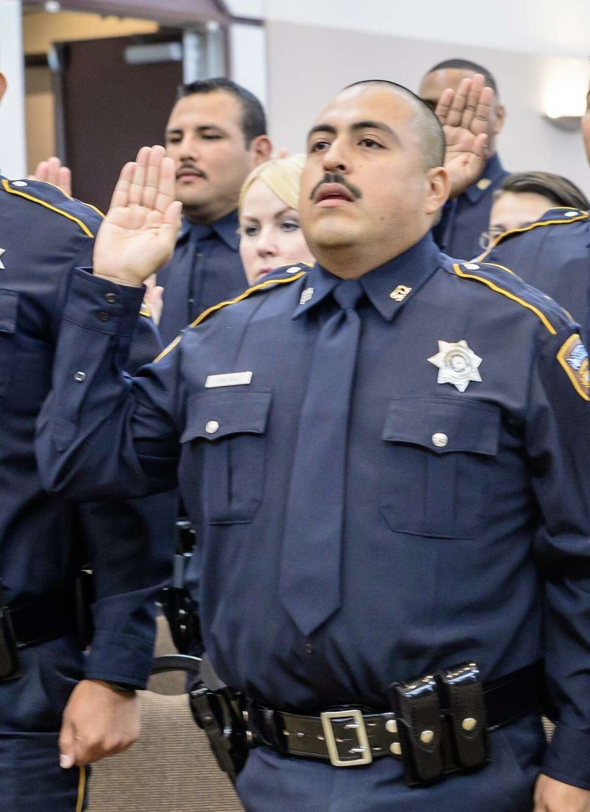 Harris County Sheriff's Office deputy Omar Diaz Died: Saturday, July 6, 2019 Diaz was putting up crime scene tape when he collapsed. It was later determined that Diaz suffered a pulmonary embolism. He was survived by his wife and daughter.