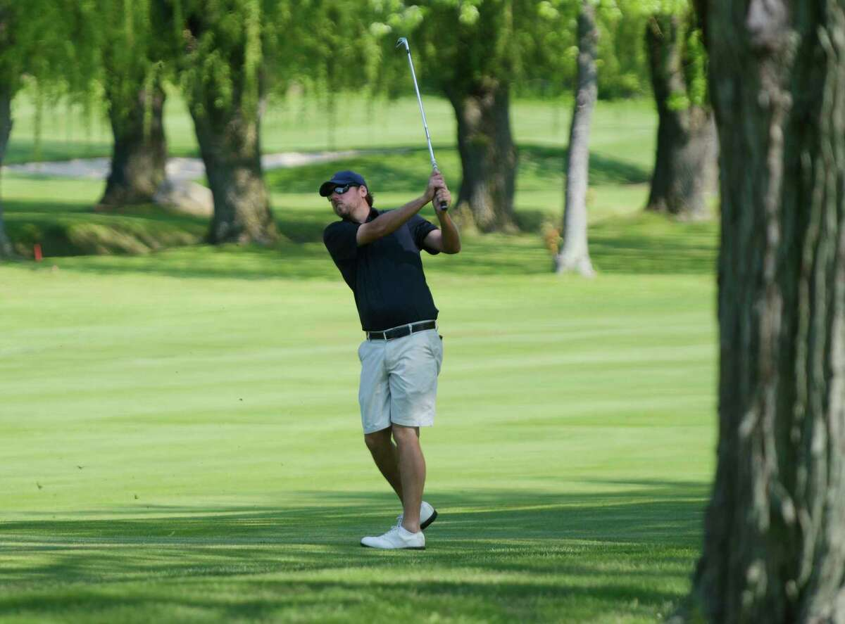 Rotterdam native Bryan Bigley, shown here at the 2017 U.S. Open local qualifier at Shaker Ridge, has advanced to sectionals nine times. (Paul Buckowski / Times Union)
