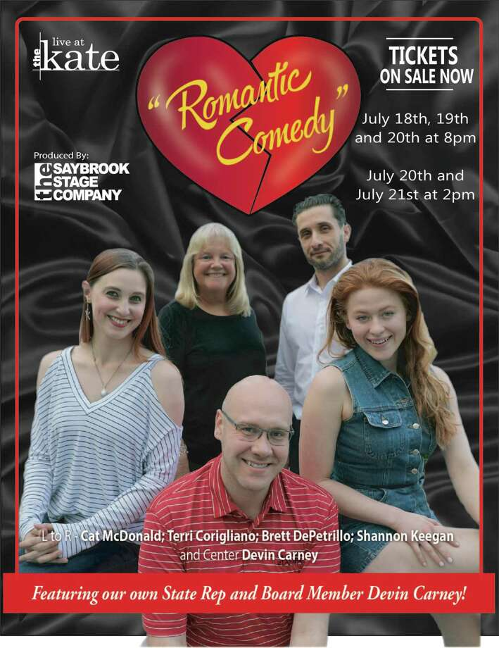"""The Saybrook Stage Company presents """"Romantic Comedy"""" July 18-21 at The Kate in Old Saybrook. Photo: Contributed Photo"""