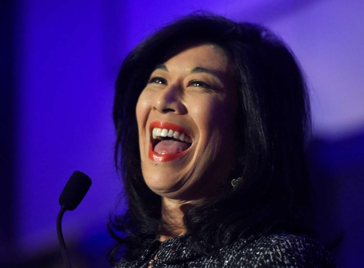 Andrea Jung, CEO of Grameen America, is one of two women on Apple's board. The company has to add another female director by the end of 2021 under a new California law, SB826.