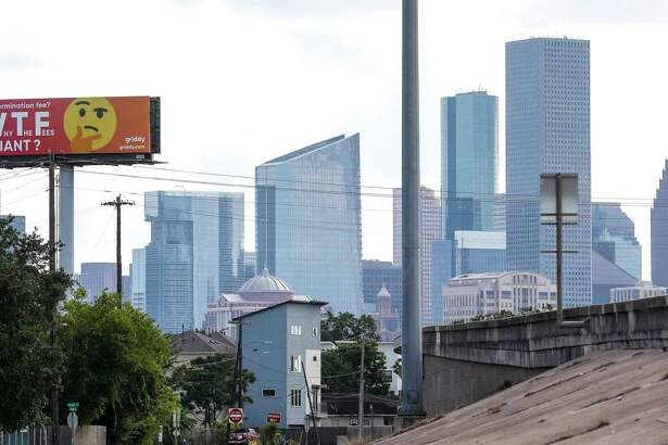 "Griddy, the California-based company that is selling wholesale power to Texans, is going head to head against Reliant Energy and TXU for market share. It put up a billboard ""WTF Reliant"" on the edge of downtown off of I-10 East, near Gregg ,Monday, July 8, 2019, in Houston. Reliant is reportedly very upset about the sign that went up late last week and has told the sign company to remove it."