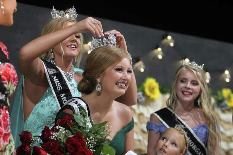 Morgan County crowned new fair royalty Tuesday night. Photo: Rosalind Essig | Journal-Courier
