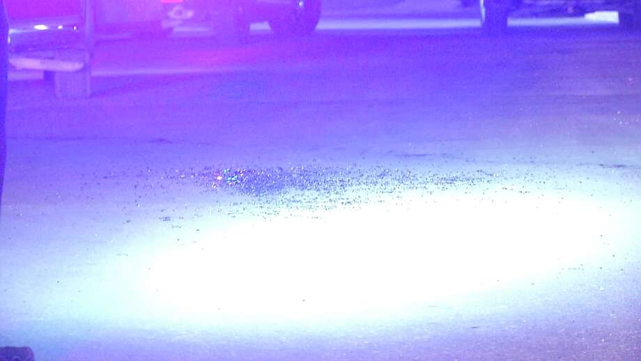 A 31-year-old male is in critical condition after being shot in the face, arm and hand by a suspect with an AR-15 Tuesday night on the South West Side of San Antonio. Photo: Ken Branca