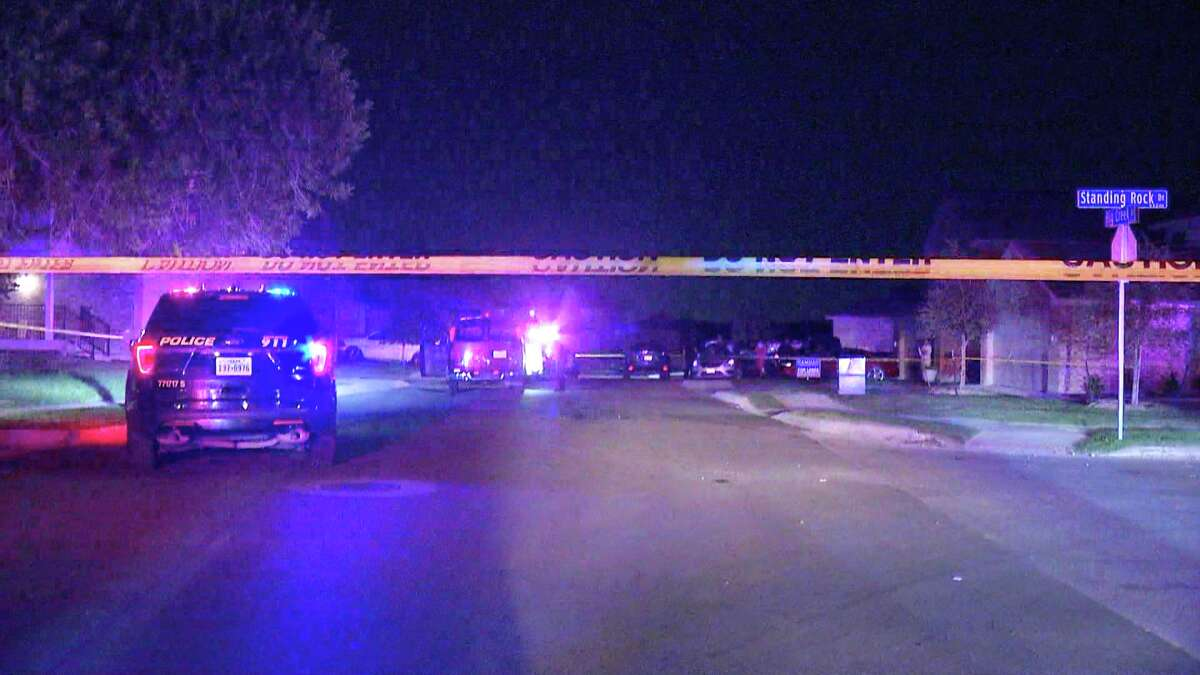 A 30-year-old male is in critical condition after being shot in the face, arm and hand by a suspect with an AR-15 Tuesday night on the South West Side of San Antonio.