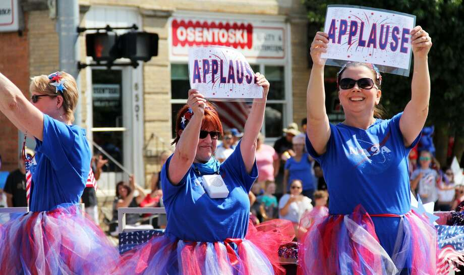 The 41st Grand Parade rolled through Cass City for over an hour during the village's 2019 Freedom Festival. Activities like a craft show and inflatable games for kids opened up after the parade. Photo: Andrew Mullin/Huron Daily Tribune