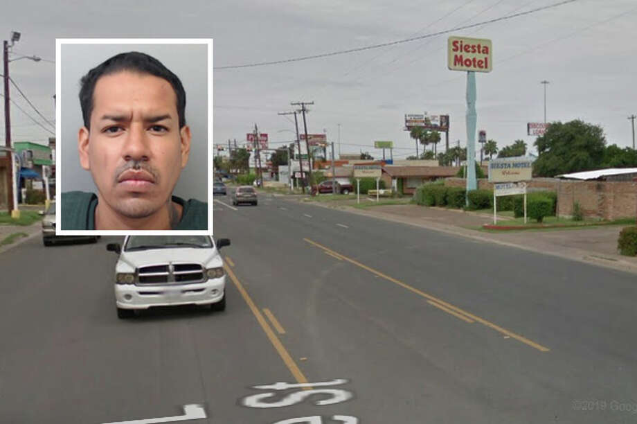 The man involved in a standoff with authorities at a local motel threatened to harm six Laredo police officers, according to an arrest affidavit. Photo: Courtesy