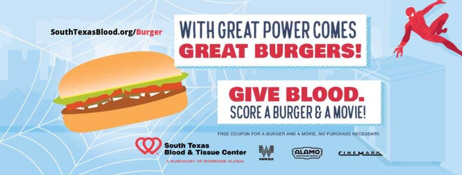 Get free Whataburger, Alamo Drafthouse movie when you donate