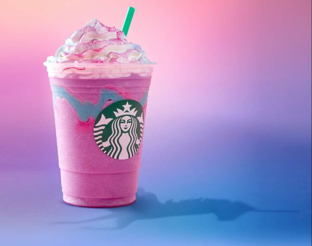 Unicorn Frappucino from Starbucks