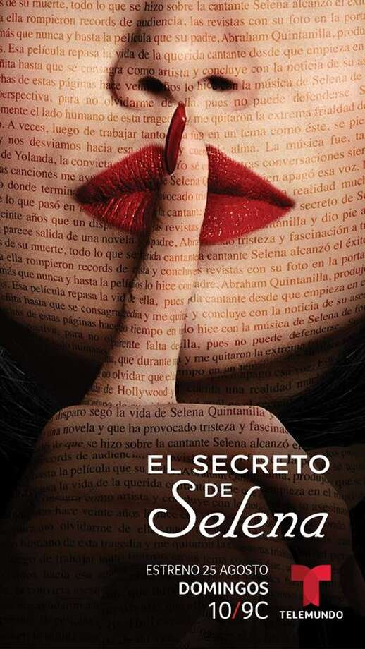"Telemundo announced on Monday that ""El Secreto de Selena"" (Selena's Secret) will premiere at 9 p.m. on Aug. 25 with closed captioning in English. The show is based on the 1997 book by Telemundo journalist María Celeste Arrarás, who covered the trial and has faced backlash from Selena's family for years. Photo: Telemundo"