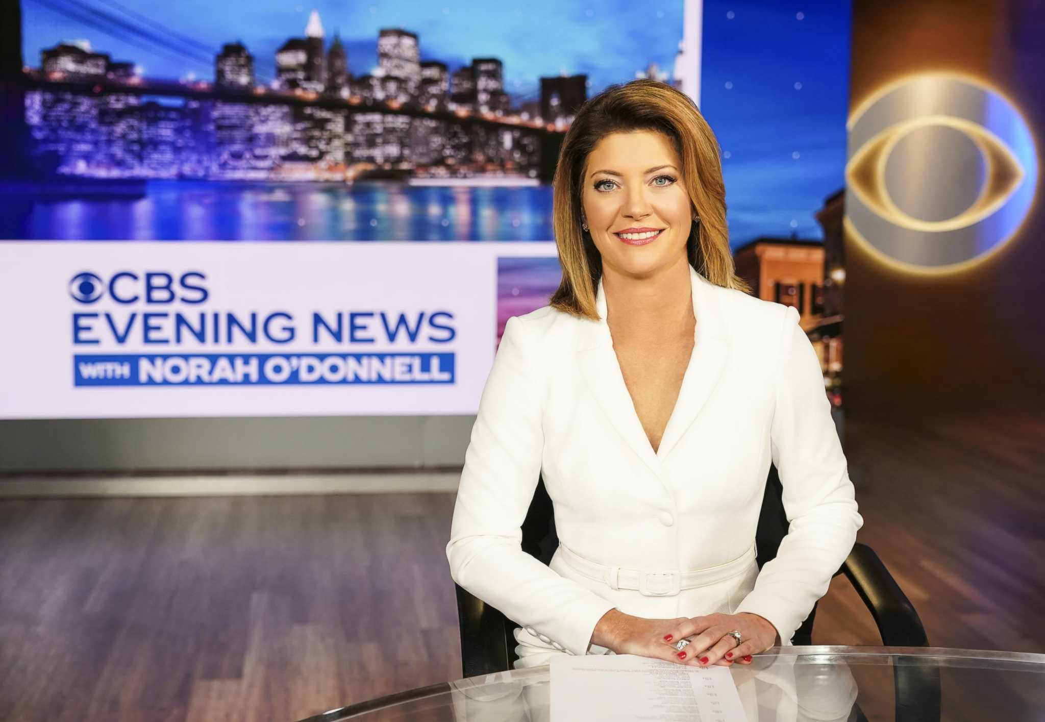 Norah O'Donnell takes over CBS Evening News on a historic week