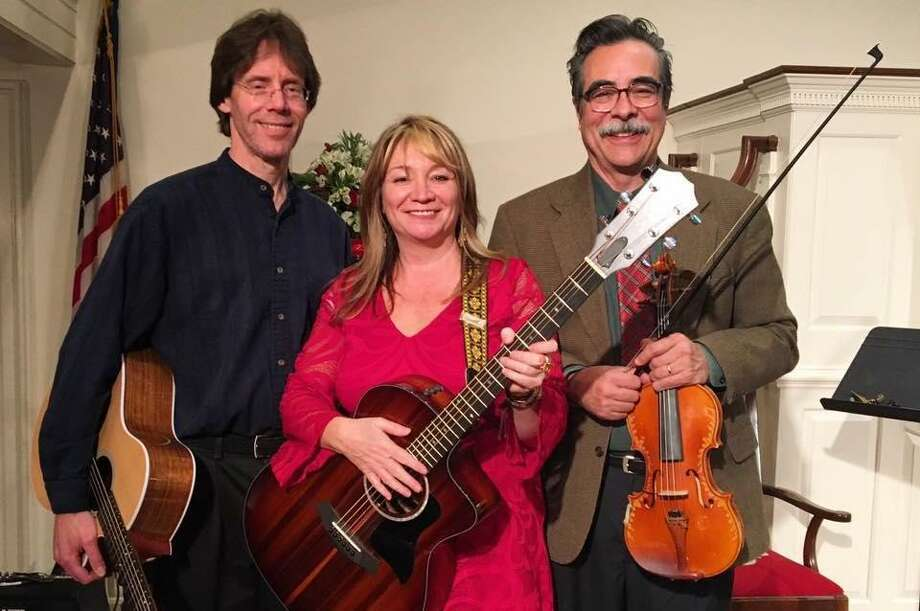 Joni and the Keepers — Joni Wallace, John Taylor, and John McNeil Johnston —are among the bands that will perform in Wilton's Summer Concert Series, July and August 2019, in Wilton, Conn. Photo: Contributed Photo / Wilton Bulletin Contributed