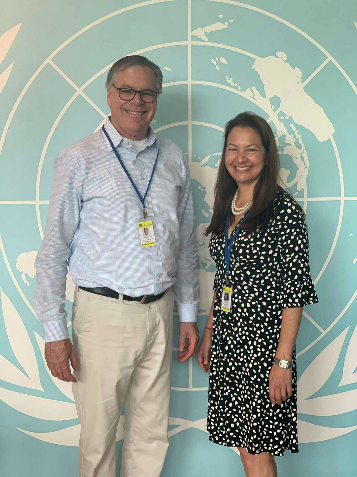 Tim and Michelle Hanlon, of New Canaan, established For All Moonkind to protect historic lunar exploration sites on the Moon. Their organization has been granted observer status by the United Nations.