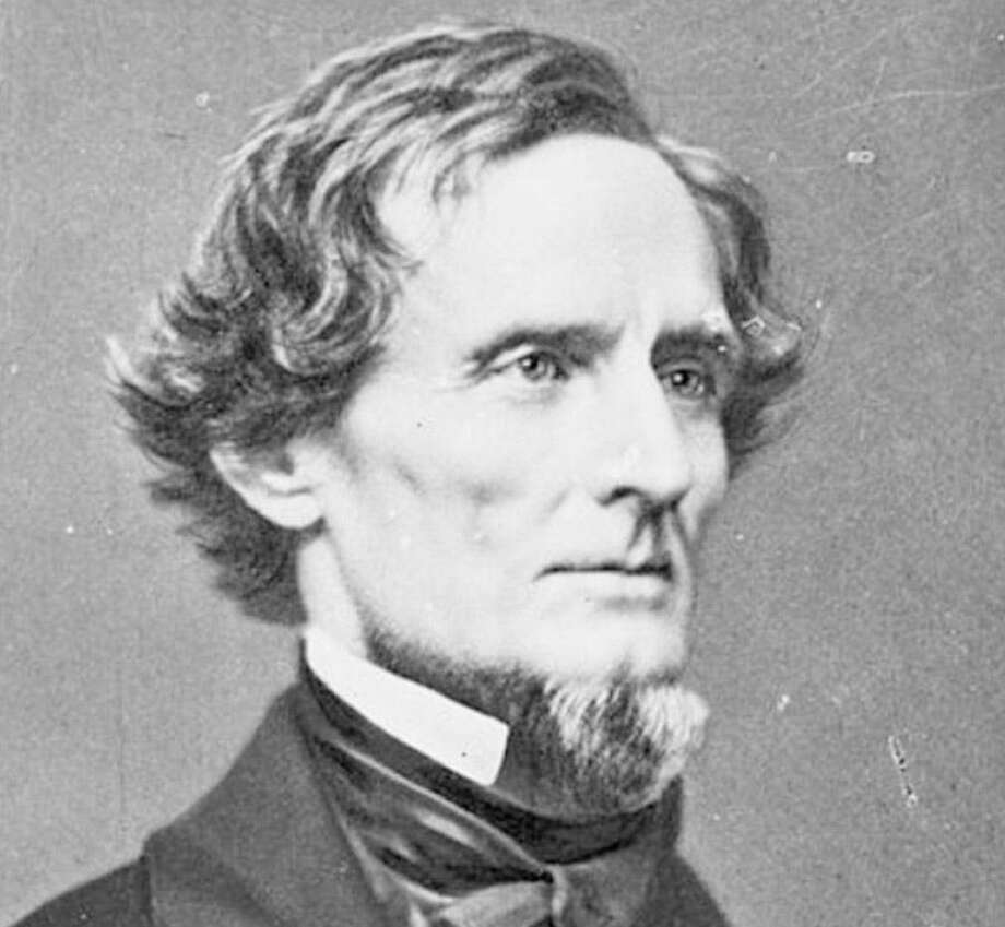 A League City fundraising dinner will tell the story of Mary Elizabeth Bowser, a freed woman who spied for the Union under the nose of Confederate President Jefferson Davis, above. Photo: Library Of Congress / handout