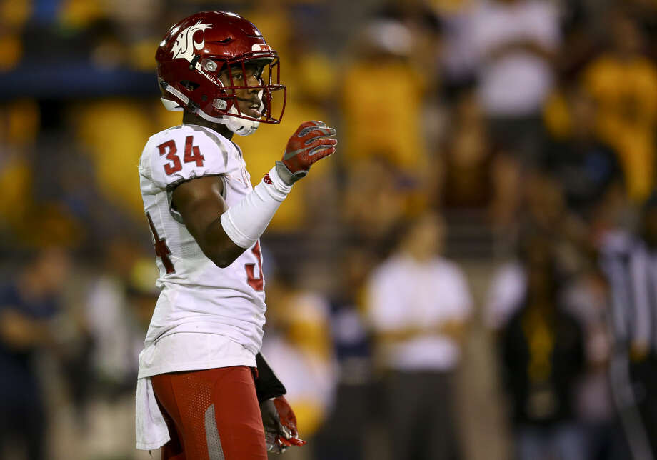 The Cardinals selected former Washington State safety Jalen Thompson in the fifth round of the NFL's supplemental draft Wednesday.  Photo: Icon Sportswire/Getty Images
