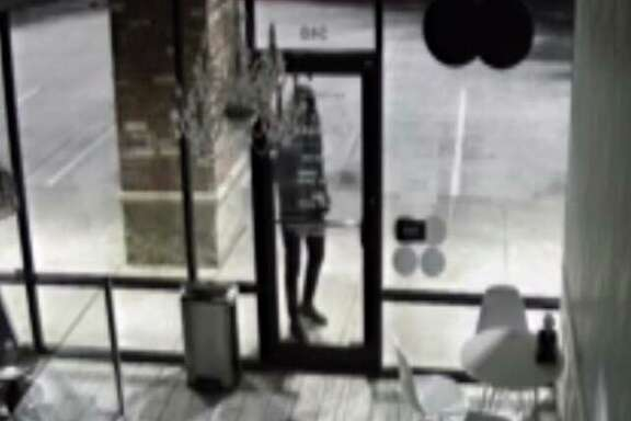 Friendswood authorities are looking for a man seen in surveillance images stealing a cash register during the early morning hours of July 2 from Smallcakes Cupcakery.