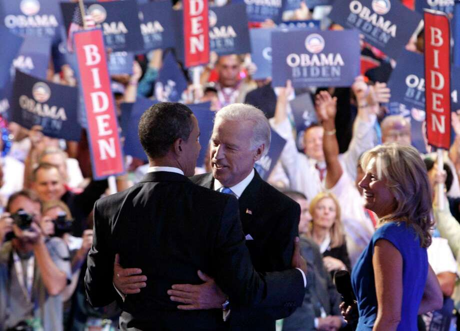 In 2008, Barack Obama named Joe Biden to be his running mate. After eight years as vice president, many thought Biden would carry on the Obama legacy in 2016, but he decided to stay out of the race. He now leads a large field of Democrats hoping to gain the nomination to run against President Donald Trump. Photo: Stephan Savoia /Associated Press / AP