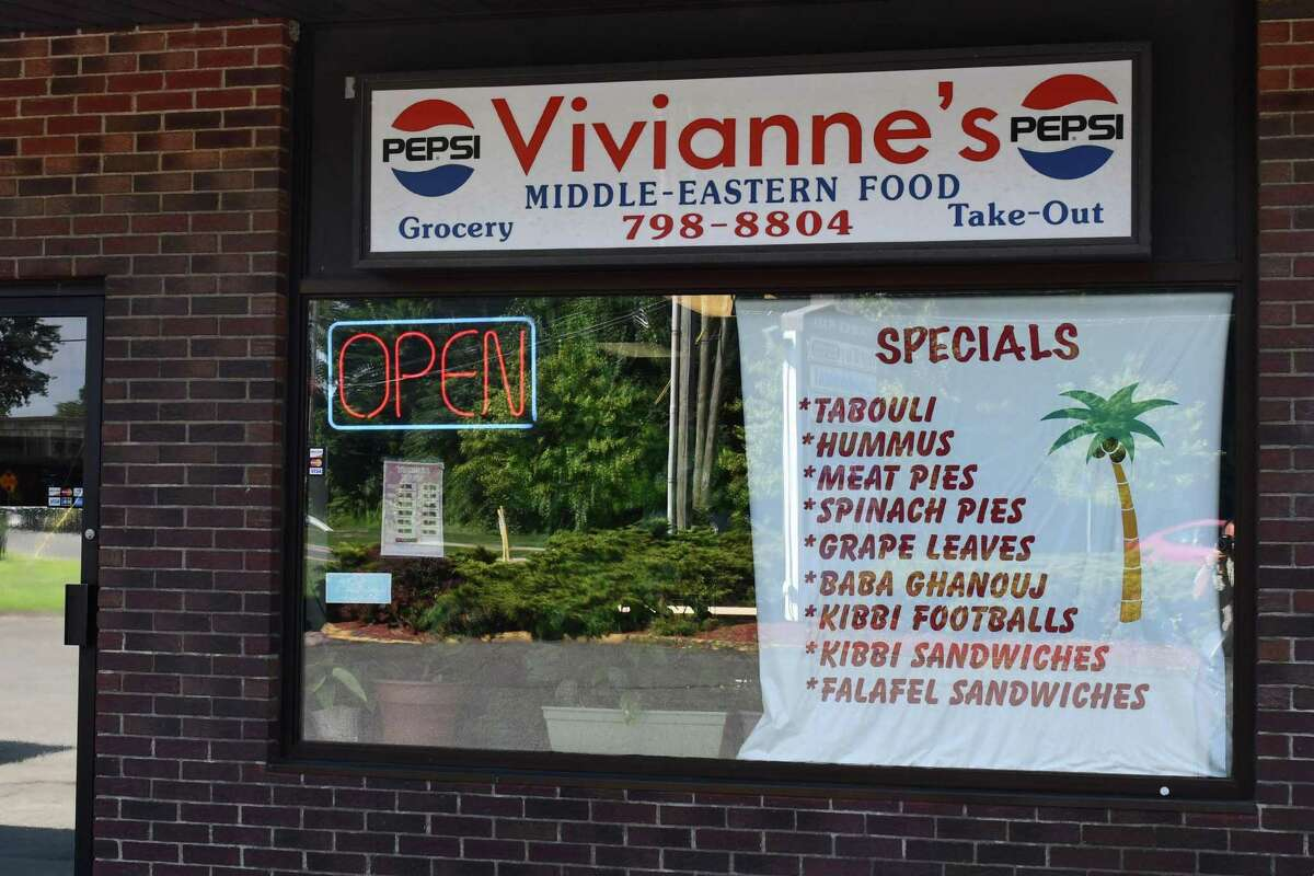 Vivianne's Middle-Eastern Food in Danbury serves dishes such as the .