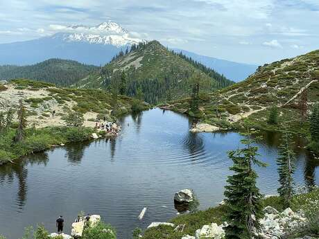 Kids 9 to 15 from city areas as far as L.A. and San Diego joined kids from rural areas of Northern California with Chronicle outdoors writer Tom Stienstra to Heart Lake in the Trinity-Divide of Northern California