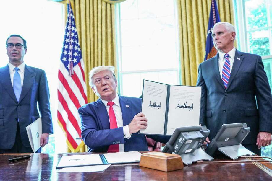 President Donald Trump recently hit Iran's supreme leader with new sanctions as tensions between the nations continue to rise. Photo: Mandel Ngan / Getty Images / AFP or licensors