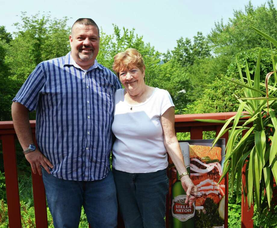 Nino's Restaurant at 825 Saybrook Road in Middletown is under new ownership. Bill Anderson, left, and his mother, Anna Hatfield, right, run the Italian eatery with Anderson's wife, Eleanor (Ferrara) Anderson, and Hatfield's husband, Richard (neither pictured). Between them, the proprietors have three decades of experience in the food business. Photo: Cassandra Day / Hearst Connecticut Media