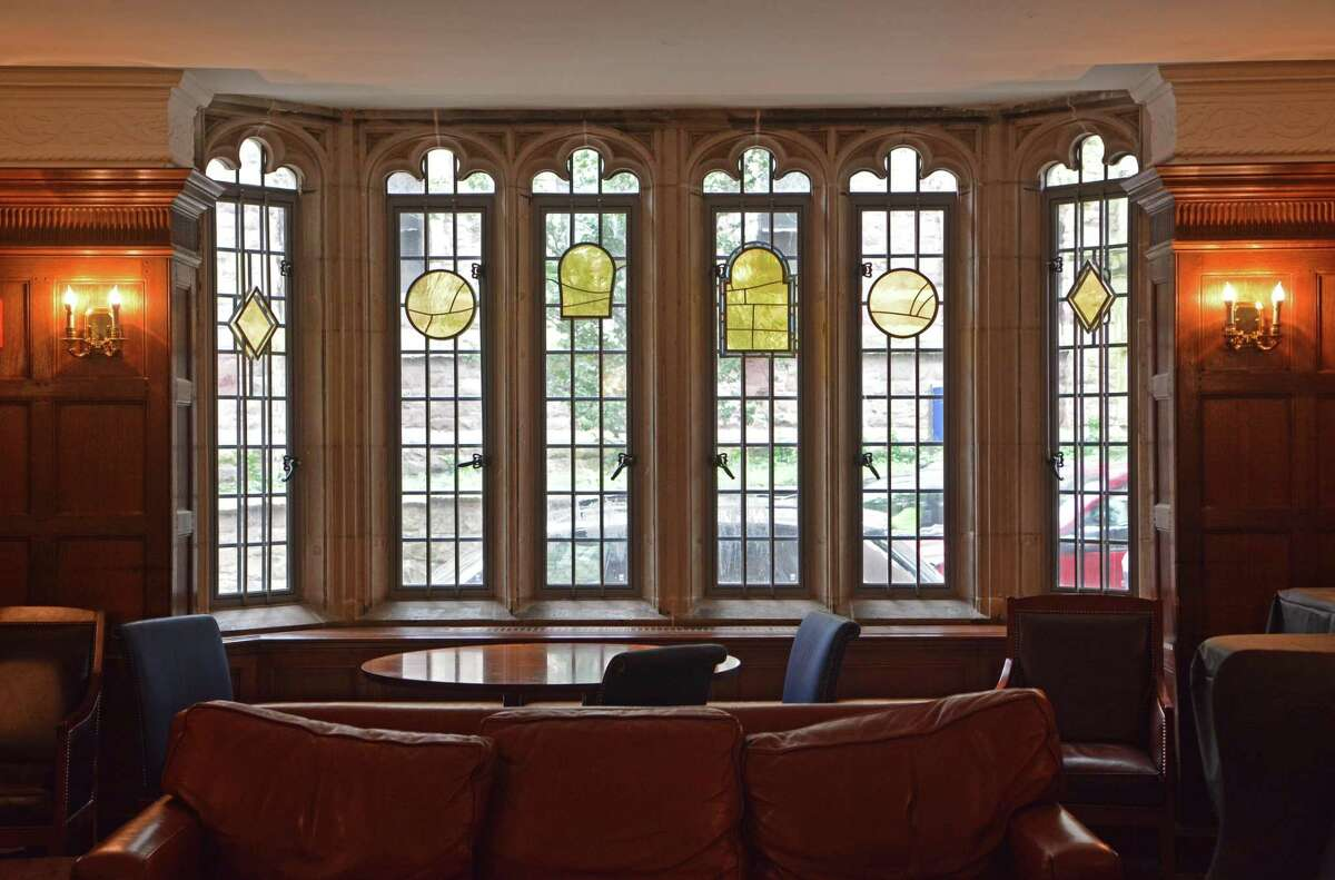 New stained-glass windows in the Grace Hopper College room will be designed by artist Faith Ringgold, known for confronting the U.S. history of race relations in her work. The windows formerly depicted John C. Calhoun, for whom the college was originally named, as well as scenes from the antebellum South.