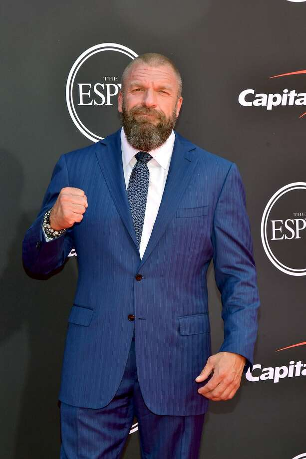 LOS ANGELES, CALIFORNIA - JULY 10: Triple H attends The 2019 ESPYs at Microsoft Theater on July 10, 2019 in Los Angeles, California. (Photo by Matt Winkelmeyer/Getty Images) Photo: Matt Winkelmeyer/Getty Images