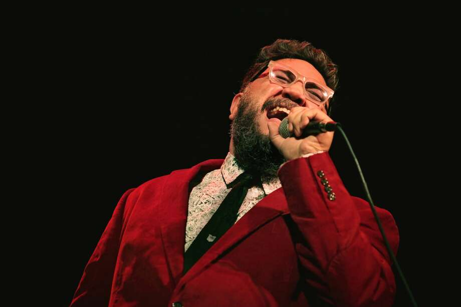 """Singer Nakia and his band, the Blues Grifters, return to the Tall City to play """"The Voice"""" showcase on Friday at Tall City Blues Fest. Photo: Courtesy Photo"""