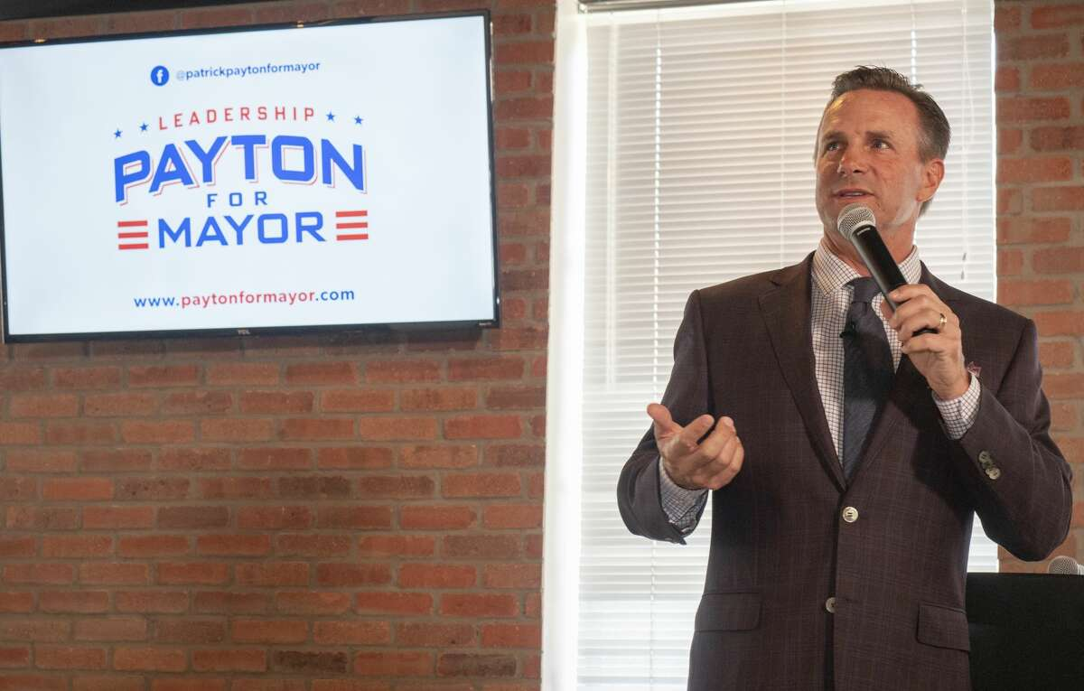 Patrick Payton,Mayoral candidate