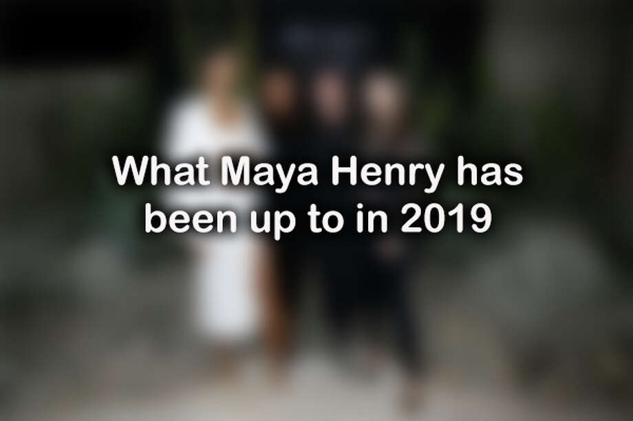 Click ahead to see what Maya Henry, daughter of local based injury attorney Thomas J. Henry, has been up to so far in 2019.  Photo: Getty Images