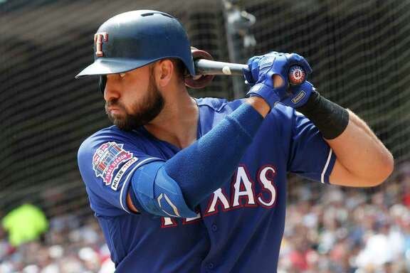 American League All-Star outfielder Joey Gallo takes an OPS of 1.060 into this series with the Astros.