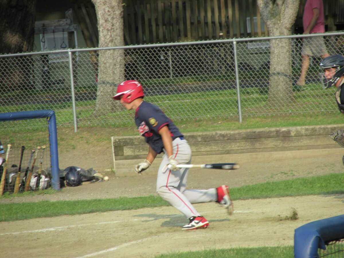 Drew Warren had a home run and four RBIs in Winsted's American Legion Baseball win over Avon at Walker Field on Wednesday.