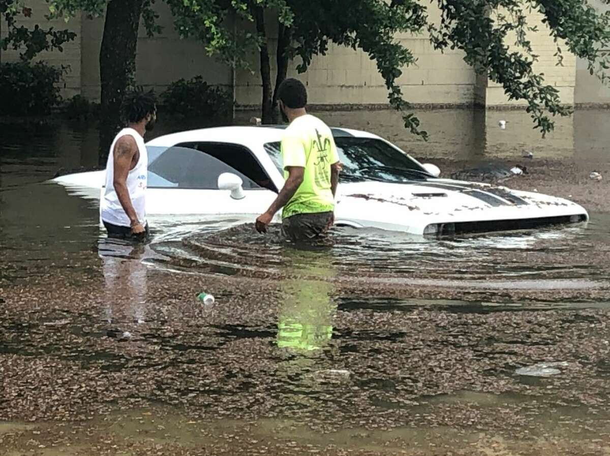 Flooding in New Orleans, July 10, 2019.