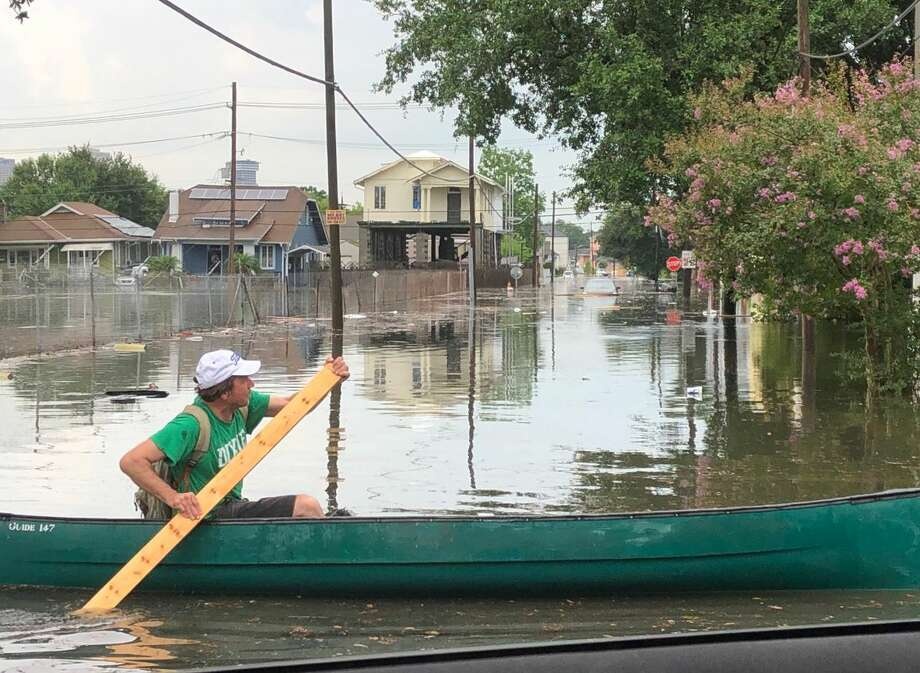 Flooding in New Orleans, July 10, 2019. Photo: Twitter User @AubryKWDSU