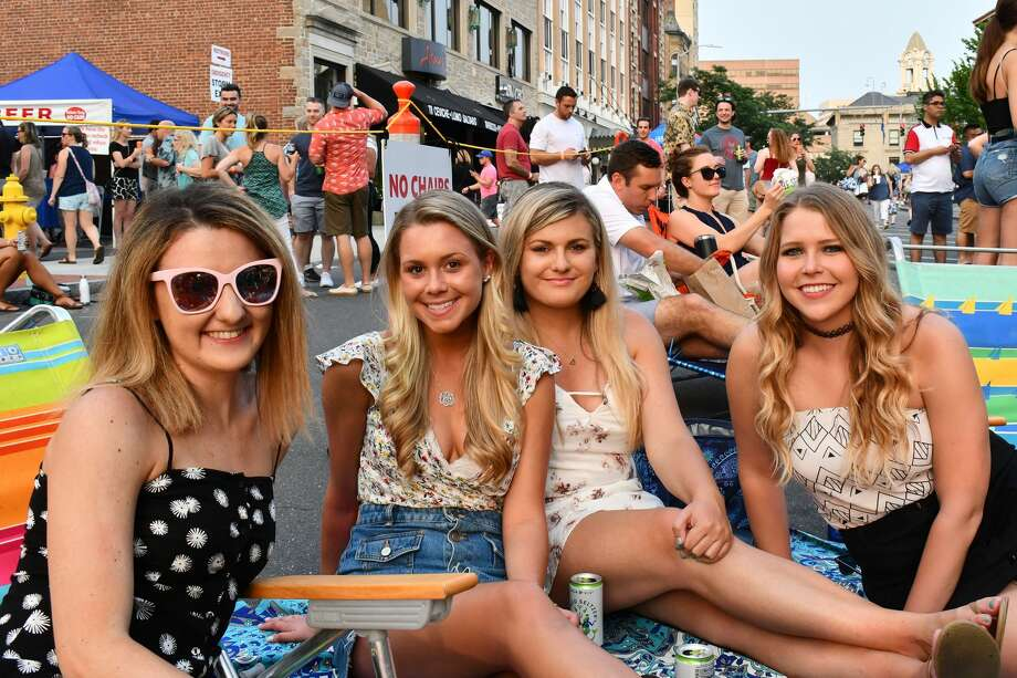 "Wednesday Nite Live kicked off in downtown Stamford on July 10, 2019. Andy Grammer, known for hits like ""Keep Your Head Up,"" was the headliner. Were you SEEN? Photo: Vic Eng / Hearst Connecticut Media Group"