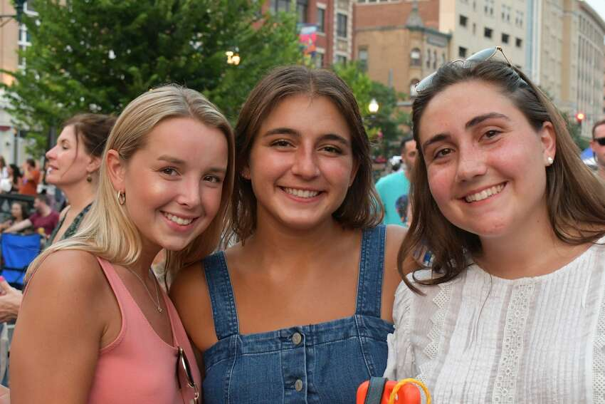 Wednesday Nite Live kicked off in downtown Stamford on July 10, 2019. Andy Grammer, known for hits like