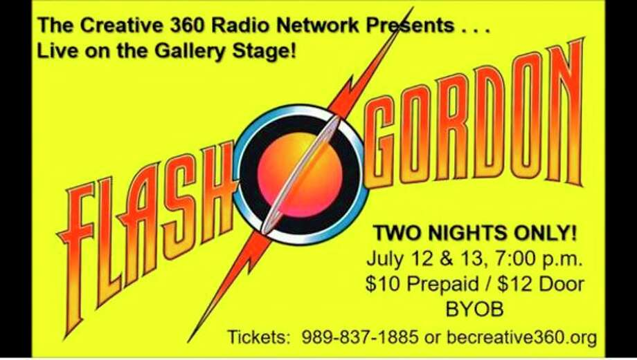 Creative 360 will stage 'Flash Gordon' as its next live old-time radio show. (photo provided)
