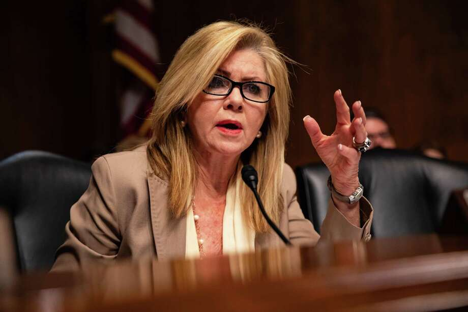 Sen. Marsha Blackburn, R-Tenn., in Washington D.C. Photo: Bloomberg Photo By Anna Moneymaker. / © 2019 Bloomberg Finance LP