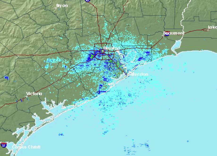 Houston is still expected to see showers later Thursday.  >>>See flooding that hit New Orleans Wednesday.  Photo: Houston Is Still Expected To See Showers Later Today. >>>See Flooding That Hit New Orleans Wednesday.
