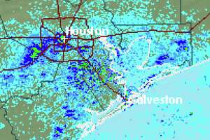 Houston is still expected to see showers later today. >>>See flooding that hit New Orleans Wednesday.