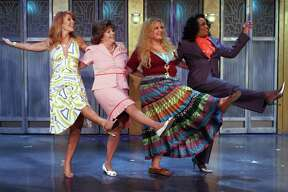 """The cast of the 2019 production of """"Menopause: The Musical,"""" which returns to the Tobin Center on July 19, 2019."""