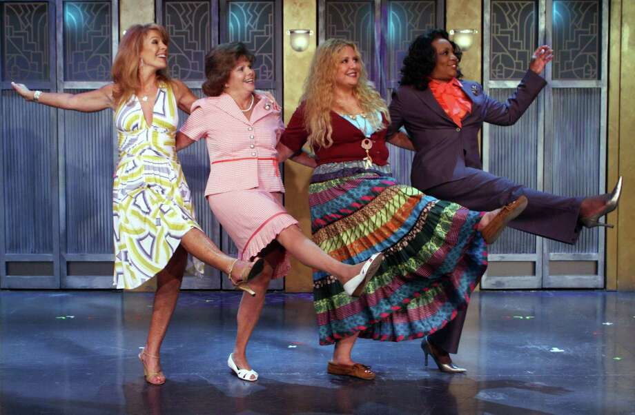 """The cast of the 2019 production of """"Menopause: The Musical,"""" which returns to the Tobin Center on July 19, 2019. Photo: GFour Productions / GFour Productions/"""