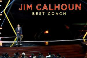 Jim Calhoun accepts the Best Coach award onstage during The 2019 ESPYs at Microsoft Theater on July 10, 2019 in Los Angeles, California. (Photo by Kevin Winter/Getty Images)