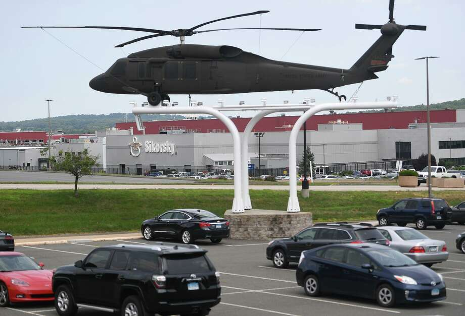 The Sikorsky helicopter factory in Stratford, Conn. on Wednesday, July 10, 2019. Photo: Brian A. Pounds / Hearst Connecticut Media / Connecticut Post